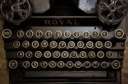 A_typewriter